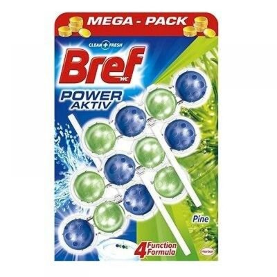 Bref wc blok power aktiv pine 3*50 g